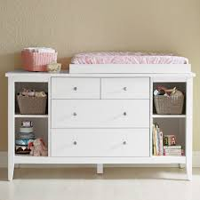 Changing Table Organization Small Wood Baby Changing Table Dresser Organization With Drawer