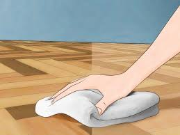 How To Get Scuff Marks Off Floor Laminate How To Clean Linoleum Floors 9 Steps With Pictures Wikihow