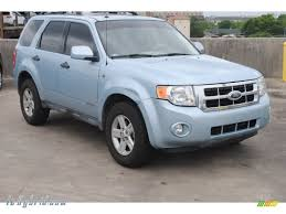 Ford Escape Blue - 2008 ford escape hybrid in light ice blue c38326 lehybrid com