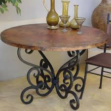 Patio Table Glass Top Wrought Iron Patio Furniture Glass Top Table Console W Demilune