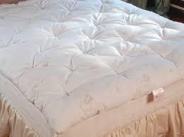 enchanting natural mattress topper with natural organic mattress
