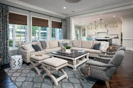 Grey Family Room Ideas Family Room Furniture Living Room Transitional With Tufted Bench
