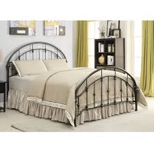 Metal King Size Headboard Beds And Headboards Metal King Size Bed With Curved Headboard And