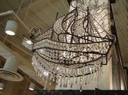 pirate ship light fixture a truly ship shape chandelier décor pinterest chandeliers