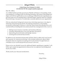 finance cover letter how to make cover letter resume accounting