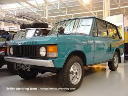 1970 range rover range rover british motoring icons