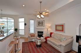 modern elegant interior design of the living room with easy condo