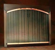 Fireplace Chain Screens - fireplace screens fireplace spark guard screen fireguards