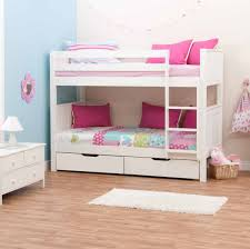 Wooden Loft Bed Design by Bedroom Space Saving Bunk Bed Ideas For Teenage U0027s Bedroom
