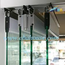 Double Glass Door by Luxury Frameless Double Glass Folding Door Office Partition Door