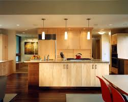 san francisco honey maple cabinets kitchen transitional with blue