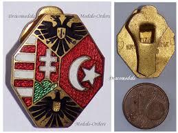 Ottoman Medals Austria Hungary Ottoman Empire Flags Ww1 Badge Headed Eagle