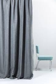 Blackout Curtains Gray Wide Blackout Curtains 300cm 118 Gray Linen Weave