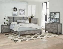 Grey Sleigh Bed Nelson Grey Sleigh Bedroom Set The Furniture Mart