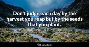 Judge A Tree By Its Fruit - plant quotes brainyquote