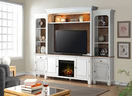 rosecliff heights heron entertainment center with fireplace wayfair