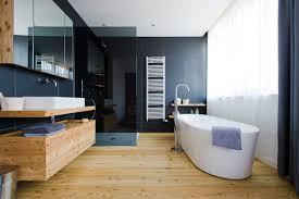 light wood floors with dark furniture