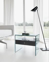 Bedroom Furniture Marble Top Nightstands Bedroom Furniture Modern Glass End Tables Tiny Bedside Table