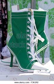 Converse High Heels High Heel Boots Stock Photos U0026 High Heel Boots Stock Images Alamy