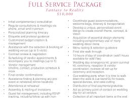 wedding planner prices event designs by katherine wedding planning packages