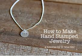 Hand Stamped Necklace Making Mementos And Jewelry With Coins