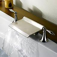 Faucets Com Coupon Bathtub Faucet Contemporary Led Waterfall Brass Chrome Save Up To