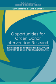 opportunities for organ donor intervention research saving lives