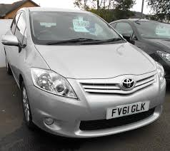 used toyota auris manual for sale motors co uk