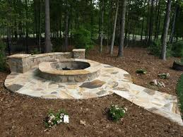 Flagstone Firepit Flagstone Patio Projects Nc Masters