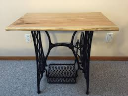 Singer Sewing Machine Desk Project Feature Singer Sewing Machine Table Top Urban Lumber