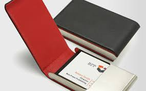 carbon fiber business card holder from cardissimo s the design