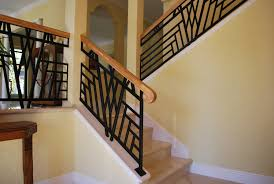 modern and exciting handles for wood railing designs interior