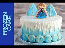 frozen cake tutorial