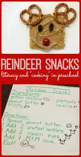 reindeer christmas snacks for kids
