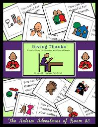 learning about thanksgiving the autism adventures of room 83