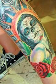 Mexico Flag Tattoo Mexican Skull Tattoo Design Cool Tattoos Bonbaden