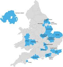 Berkshire England Map by Our Locations