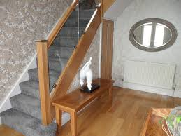 Glass Banisters Glass Staircases Contemporary Glass Balustrades And Timber