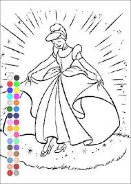 cinderella coloring games