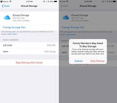 how to sign up for icloud family storage plans in ios 11 mac rumors