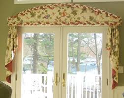 cornice with braid and cascades curtains boutique