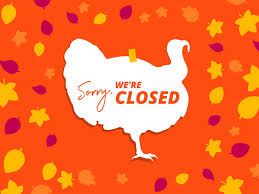 what s open closed for thanksgiving weekend in mendota heights