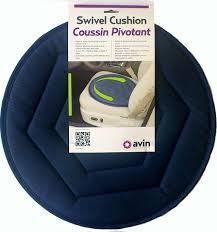 auto swivel seat cushion by standers for smooth transfers in out