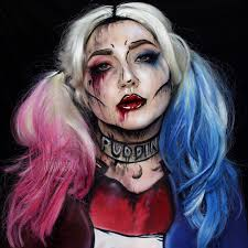 halloween makeup inspiration cell shaded harley quinn in honor of u0027suicide squad u0027 jordanhanz