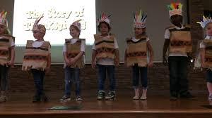 bubbys thanksgiving program at preschool