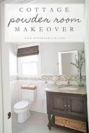 Quality Bathroom Furniture by Powder Room Makeover Lightandwiregallery Com