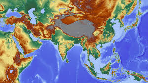 Map Of Asia by Free Stock Photo Of Elevation Map Of Asia Public Domain Photo