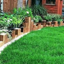 Timber Garden Edging Ideas Landscape Timber Edging Landscape Timber Edging Ideas Metal Garden