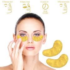 Collagen Mask 24k gold collagen eye mask pack aisle finds
