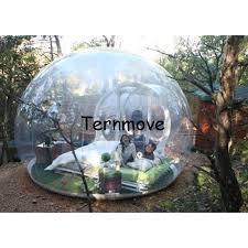 bulle chambre acheter chambre gonflable transparente de bulle tente extérieure de